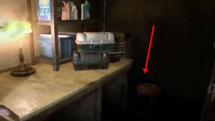 Encontrar a foto é essencial para localizar os itens escondidos de Resident Evil 7 (Foto: Reprodução/Felipe Demartini)