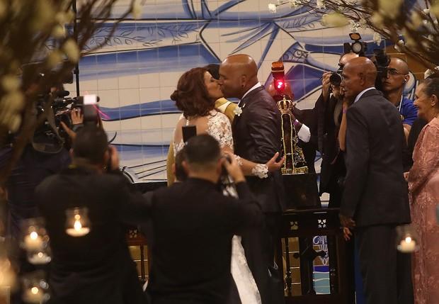 Casamento de Rick e Geralda (Foto: Iwi Onodera / Ego)