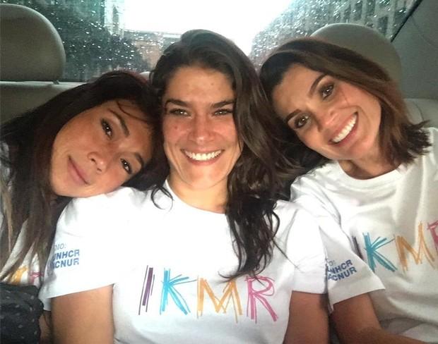 Daniele Suzuki, Priscila Fantin e Flavia Alessandra,  (Foto: Instagram / Reprodução)