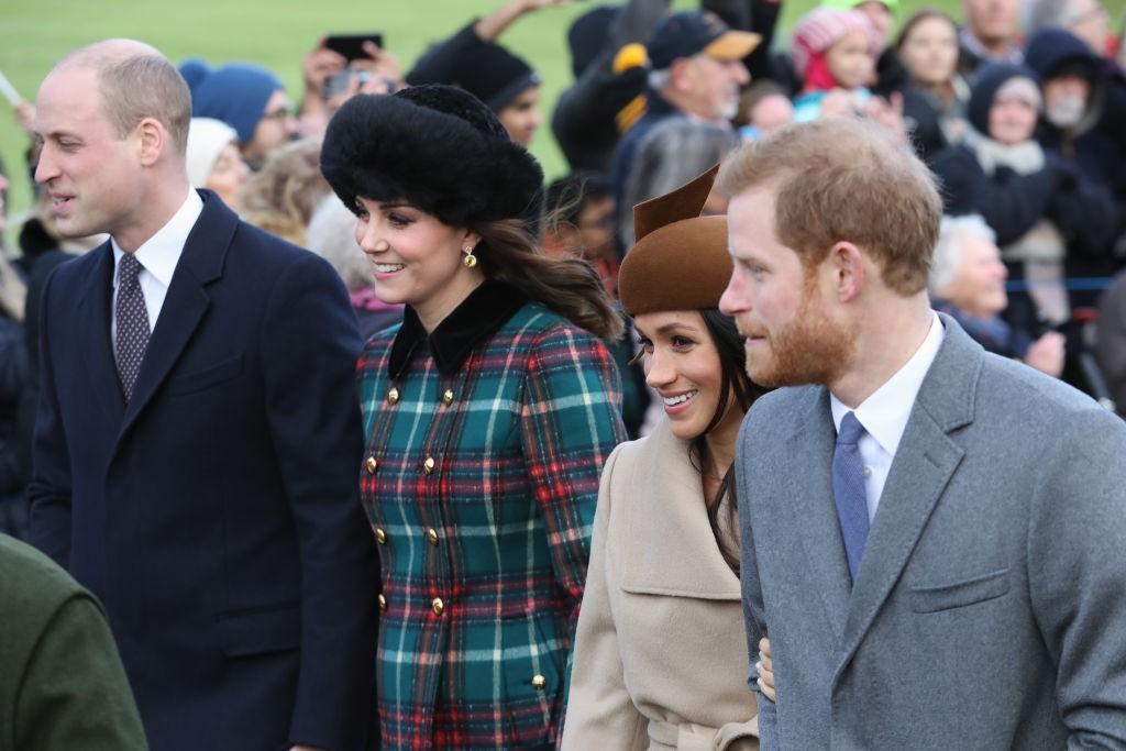 O Natal da família real (Foto: Getty Images)