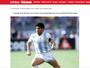 Maradona tenta recuperar relíquias em poder da ex. Lista tem chuteira de 86