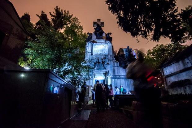 Mausoléu da família Matarazzo, o maior da América Latina (Foto: Marcelo Brandt/G1)