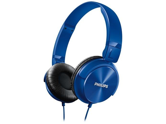 Fone de ouvido da Philips tem conchas acústicas e modelos coloridos (Foto: Divulgação/Philips)