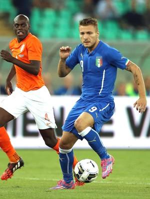 Ciro Immobile Itália X Holanda (Foto: Getty Images)