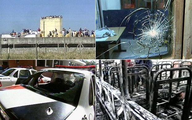Ataques em São Paulo em 2006 partiram dos presídios do estado (Foto: TV Globo/Reprodução)