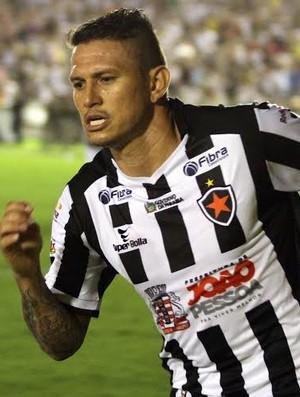 Rafael Oliveira, Botafogo-PB, atacante, Almeidão (Foto: Francisco França / Jornal da Paraíba )