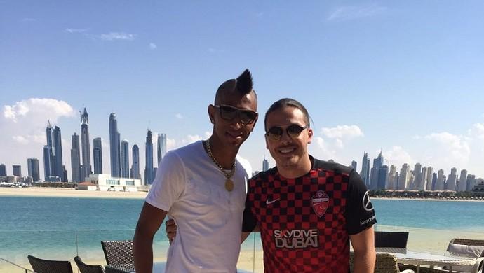 Wesley Safadão Dubai Ciel (Foto: Divulgação)