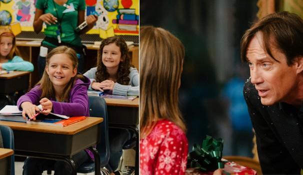 Olivia Mead (Izabela Vidovic) gostaria de encontrar alguém que ela pudesse chamar de pai (Foto: Divulgação/Reprodução)