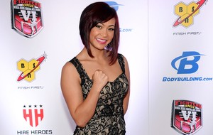MMA Awards - Michelle Waterson, lutadora do Invicta (Foto: Getty Images)