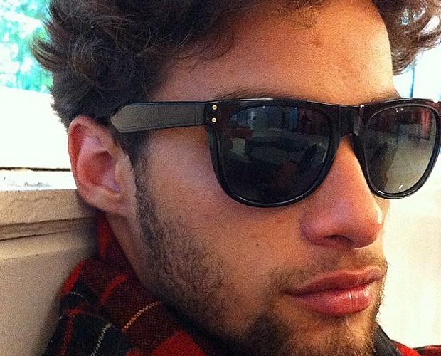 Pablo em selfie feita pelo seu celular (Foto: Arquivo Pessoal)