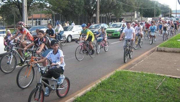 RPC  TV na Praça Londrina (Foto: Divulgação/ RPC TV)