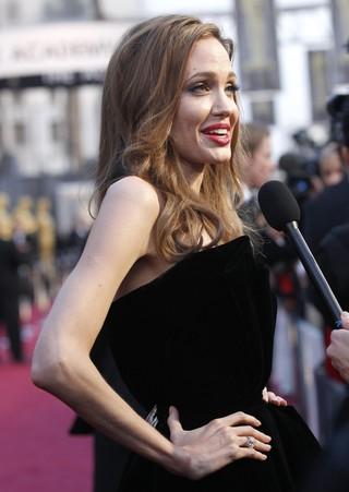 Angelina Jolie no Oscar (Foto: Reuters/Agência)