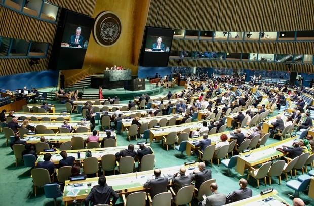 Bolívia, Suécia, Etiópia e Cazaquistão entram para Conselho de Segurança (Foto: Kena Betancur/AFP)