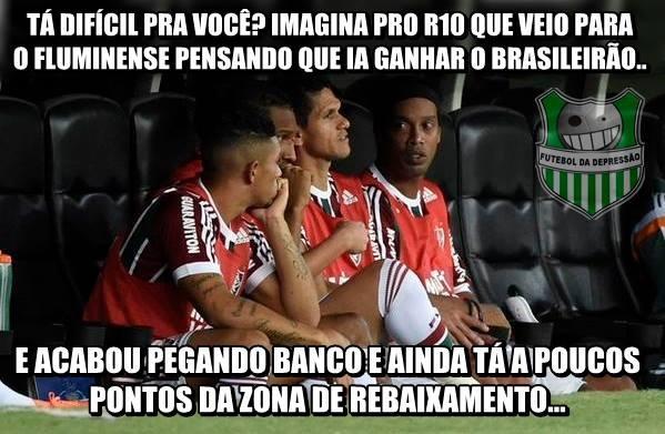 Zoação Fluminense x Palmeiras
