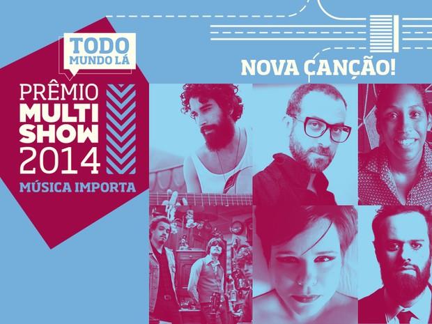 prmio multishow de msica 2014 nova cano (Foto: Divulgao)