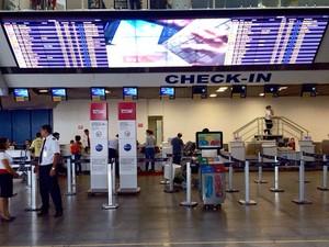 Aeroporto Marechal Rondon em Várzea Grande (MT) (Foto: Diego Hurtado/TVCA)