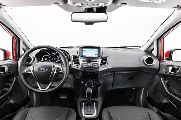 Ford New Fiesta hatch 2018 (Foto: Divulgação)