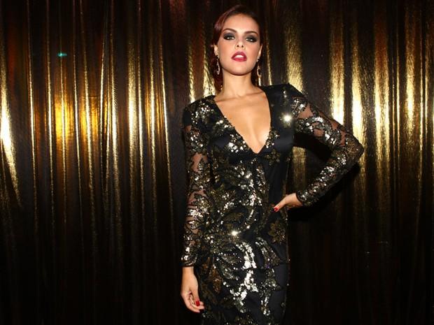 Paloma Bernardi no Baile de Gala da Vogue (Foto: Iwi Onodera / EGO)