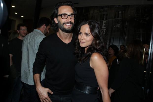 Rodrigo Santoro e Alice Braga (Foto: Marcello Sá Barretto / Agnews)