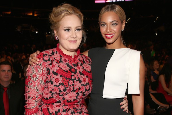 Adele e Beyoncé (Foto: Getty Images)