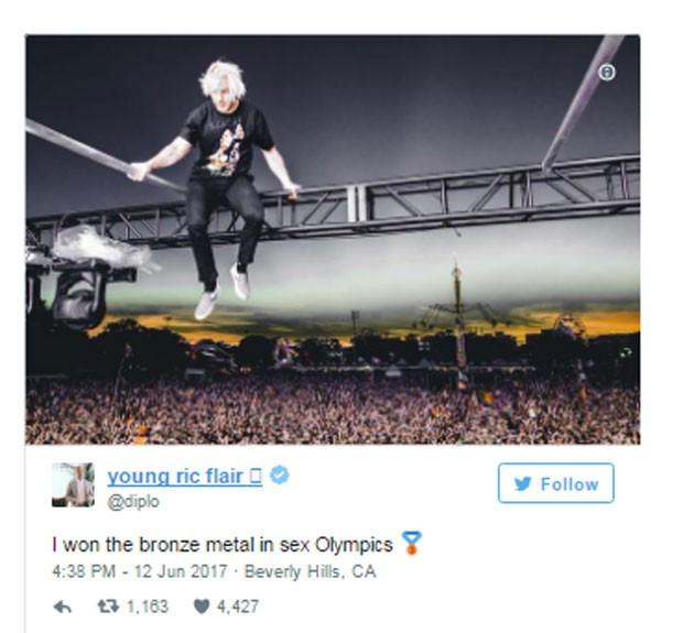 Diplo comenta ranking de Katy Perry (Foto: Reprodução)