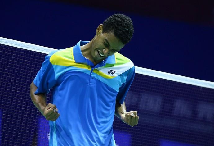 Ygor Coelho - badminton (Foto: Divulgação)