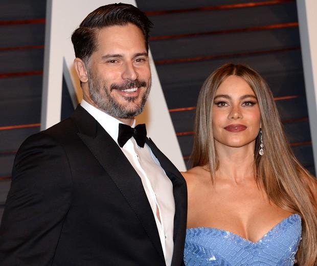 Joe Manganiello e Sofia Vergara (Foto: AP)