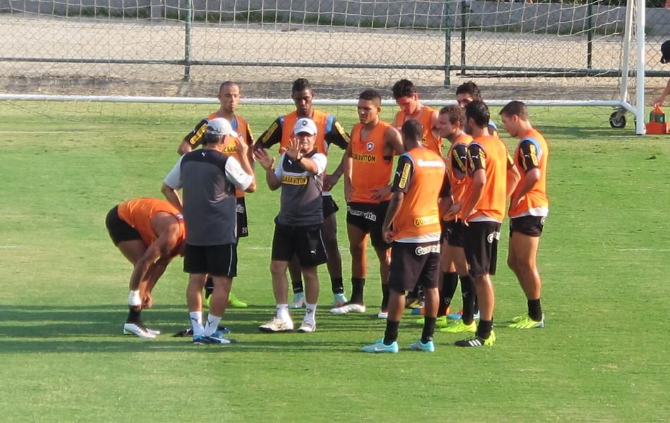 René Simões treino Botafogo