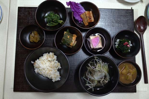 Pratos da monja Jeong Kwan (Foto: Dimitri Mussardi)