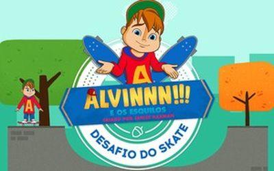Alvin e o Desafio do Skate