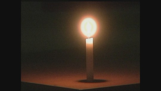 Alunos de escola na Serra catarinense têm aulas à luz de velas