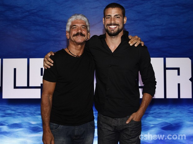 Jackson Antunes volta às telinhas como Saulo, pai de André (Foto: Inácio Moraes/TV Globo)