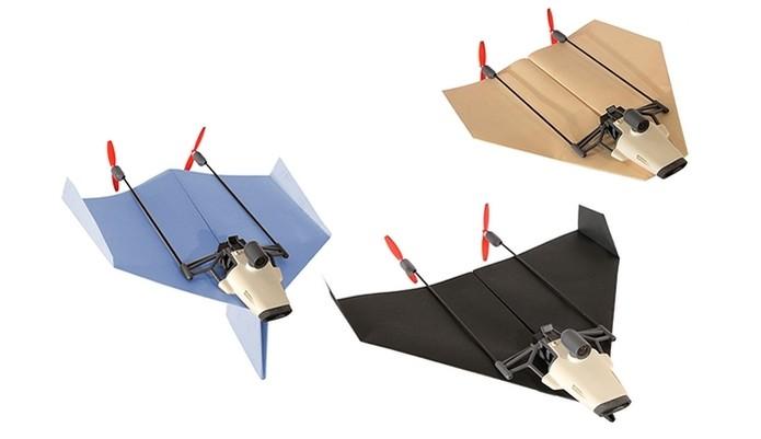 PowerUp FPV, primeiro drone de papel com câmera de transmissão ao vivo (Foto: Divulgação) (Foto: PowerUp FPV, primeiro drone de papel com câmera de transmissão ao vivo (Foto: Divulgação))