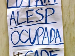 PREP_alesp_ocupacao (Foto: TV Globo)