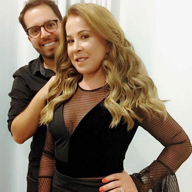 Zilu em show em Goiânia, Goiás (Foto: Instagram/ Reprodução)