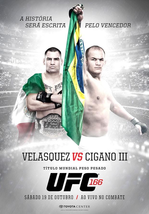 Velásquez e Cigano aparecem com bandeiras de México e ...  Velásquez e Ci...
