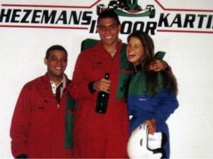 Viviane Brunieri reencontrou Ronaldo em 2002 (Foto: Reprodução/Facebook)