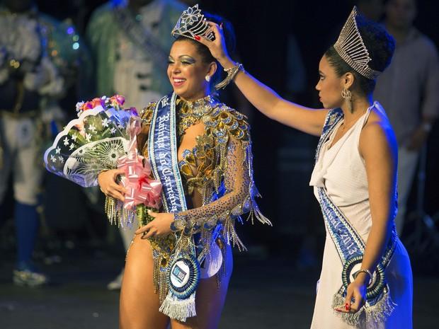 Letícia Martins foi eleita a Rainha do Carnaval 2014 (Foto: Divulgação/Riotur)