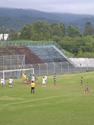 mogi x rio claro - futebol feminino - jogos abertos 3 (Foto: Rodrigo Mariano)