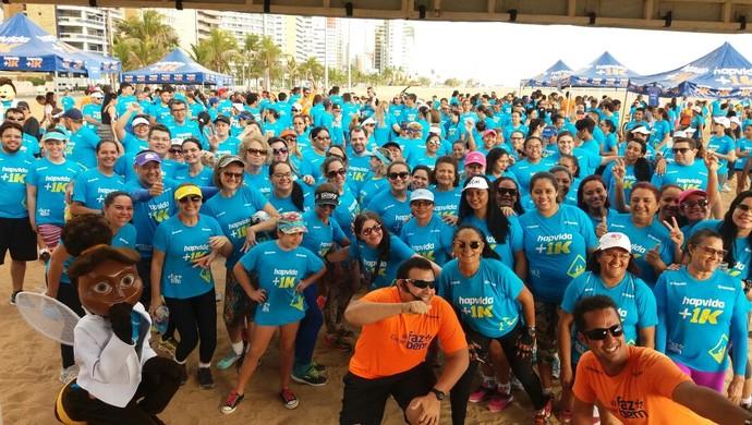 Assessoria; corrida de rua; câncer de mama; Fortaleza (Foto: Divulgação)