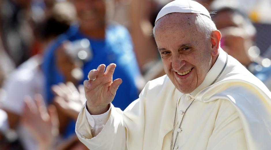 Papa Francisco foi a inspiração para criação da aceleração no Vaticano (Foto: Divulgação)