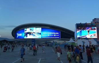"""""""Piscina de Copa"""", estrutura olímpica e segurança rigorosa: Kazan impressiona"""