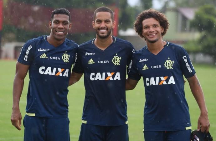 Uniforme Flamengo Treino (Foto: Gilvan de Souza/Divulgação Flamengo)