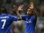 Brasileiros saem do banco, marcam e arrancam empate para o Chelsea