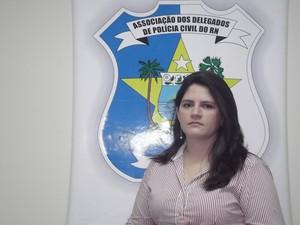 Delegada Taís Aires fez desabafo nas redes sociais (Foto: Igor Jácome/G1)