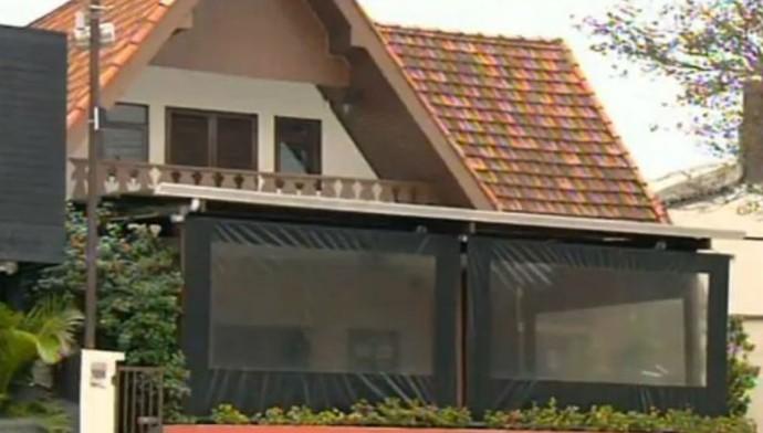 Restaurante de Sorocaba inidicado em guia da Copa, que está fechado há três anos (Foto: Reprodução / TV TEM)