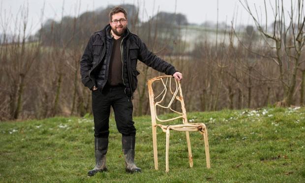 Gavin Munro criou o projeto Full Grown e transformou a ideia de plantar móveis em realidade (Foto: Divulgação)