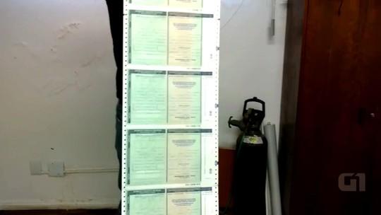 Polícia do RS apreende 87 espelhos de registro de veículos em operação
