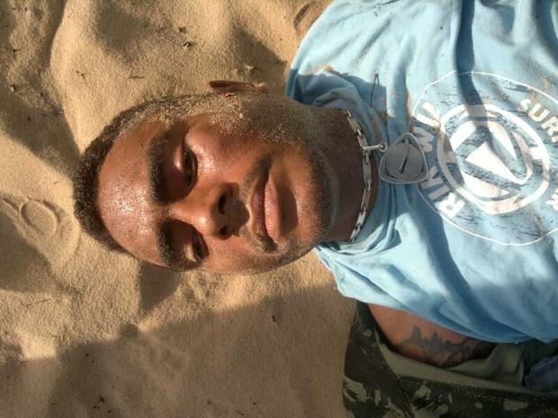 Rivotril foi capturado na manhã desta segunda-feira no bairro de Mãe Luiza, em Natal (Foto: Divulgação/Polícia Militar do RN)
