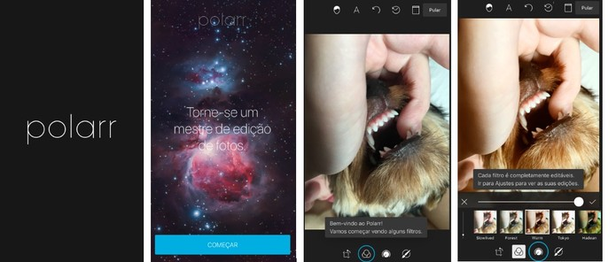 Edite suas fotos com um app completo (Reprodução/Camila Peres)